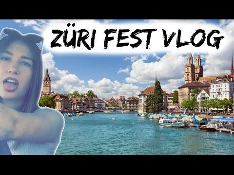 ZÜRICH FEST, SWITZERLAND | WEEKEND EXPLORING | VLOG