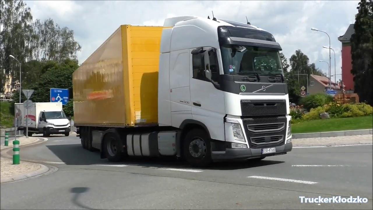 Ciężarówki Tiry Náchod 2020r.