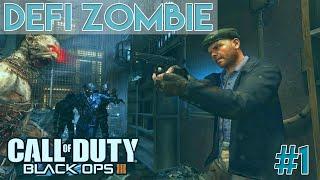 DEFI ZOMBIE #1 | Black ops 3 - Pistolet uniquement