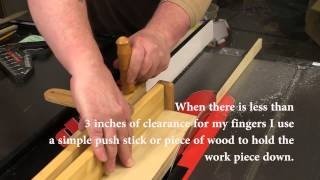 Using A Taper Jig