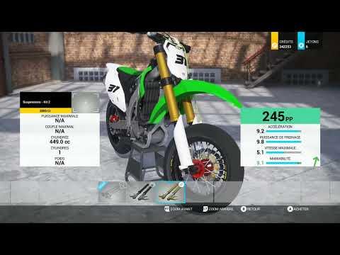 Ride 2 Kawasaki KL SM 450F 2015 Competition Bikes Pack