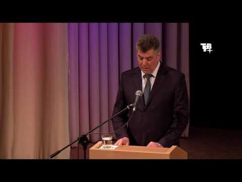 Отчёт главы городского округа  Андрея Ильина