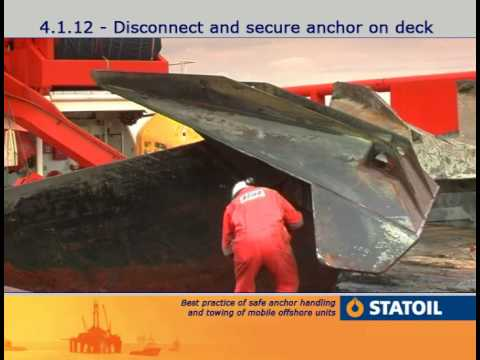 7. Anchor Handling - Disconnecting the Anchor