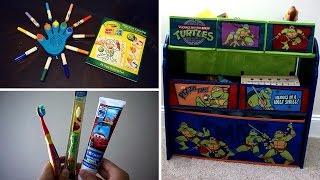 Favorites- Color Wonder Markers & Fingerpaint, Toothbrush, and Toy Organizer!