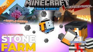 STONE FARM | Truly Bedrock Season 2 [69] | Minecraft Bedrock Edition
