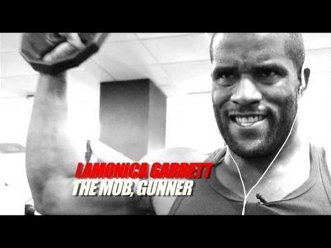 LaMonica Garrett Training_SlamBall