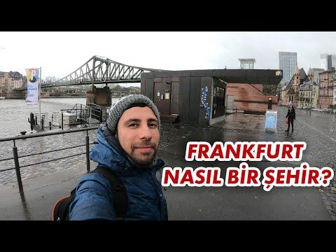 Almanya'nın Finans Şehri Frankfurt'ta Yaşanır Mı? | Almanya Frankfurt Yaşam