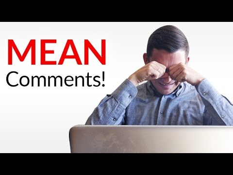WORST Comment Reaction - Antonio Reads Through His Mean YouTube Comments