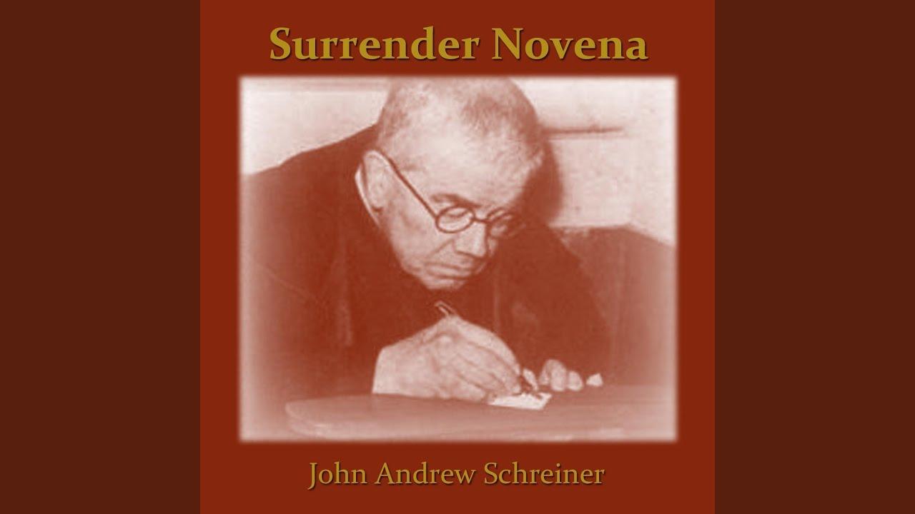 photo relating to Surrender Novena Printable called Surrender Novena