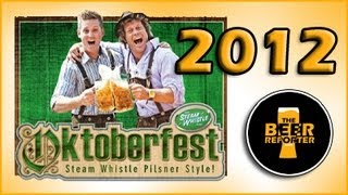 Steam Whistle Oktoberfest 2012 - The Beer Reporter