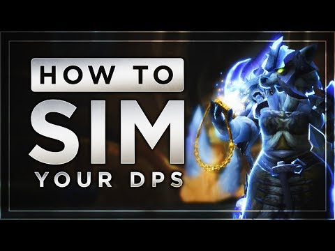 Guide | How to Sim Your DPS in Battle for Azeroth | SimC + Raidbots + Pawn | FinalBossTV