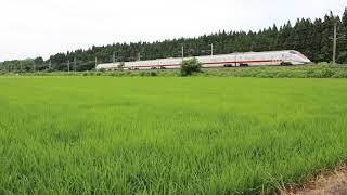秋田新幹線 E926形「East i」 試9922M 刈和野~神宮寺 2019年7月22日