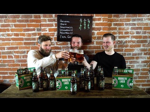 Beer Me Episode 107 - Brooklyn Lager Review