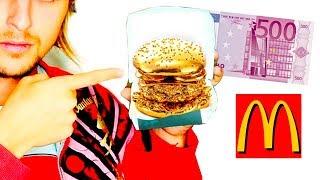 A qué sabe LA Hamburguesa de 500€ Euros del McDonalds?