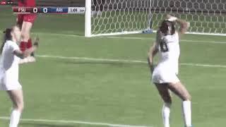 ¡Sexy baile! Deyna Castellanos festejó un gol en Estados Unidos