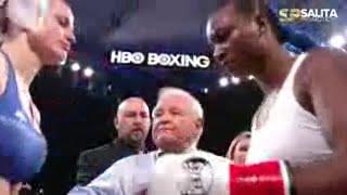 CLARESSA SHIELDS VS FEMKE HERMANS FULL FIGHT HBO SIGN OFF SHOW
