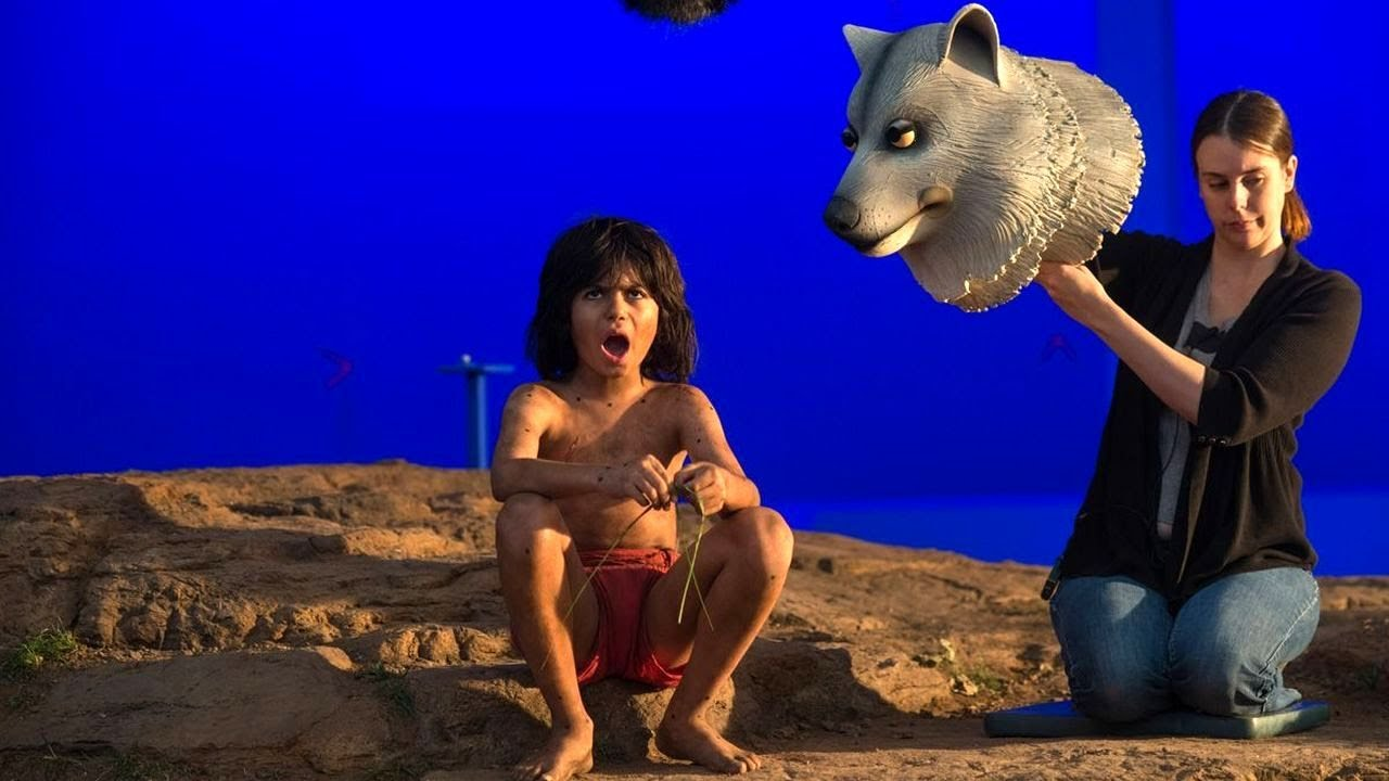 The Jungle book (Behind The Scenes) - YouTube