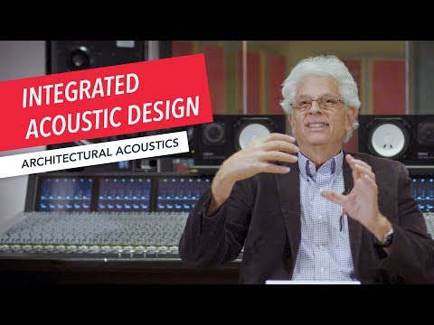 Architectural Acoustics & Audio Systems Design: Integrated Acoustic Design for a Recording Studio