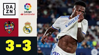 Traumtore, Platzverweis, Feldspieler im Tor: Levante - Real Madrid 3:3 | LaLiga