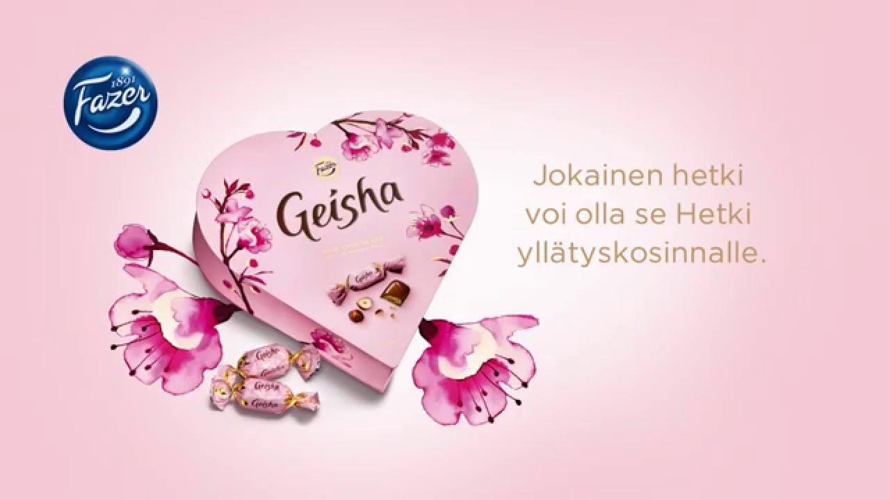 Geisha Mainos