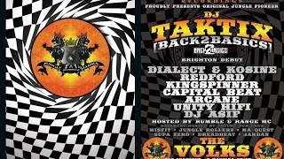 DJ Taktix & Ultravibe (BrightonDebutDJSet) Volks Club Brighton- Jungle Alliance-18/10/13