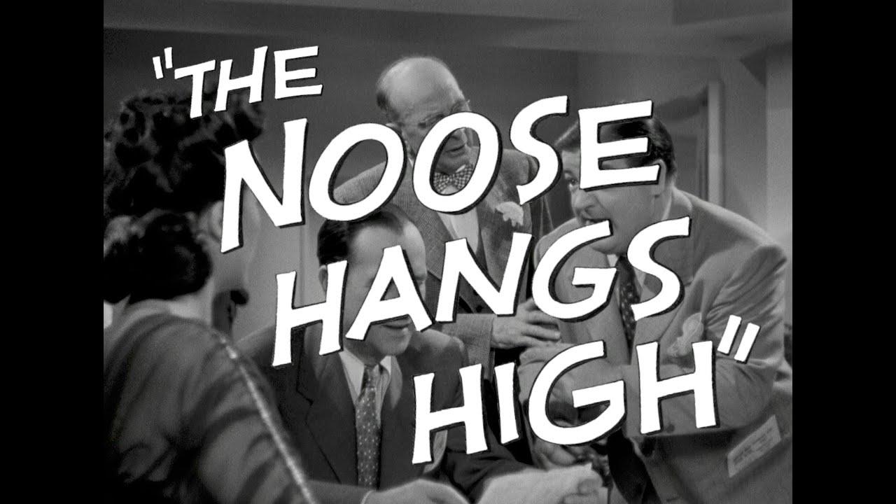 The Noose Hangs High (1948) ClassicFlix Trailer