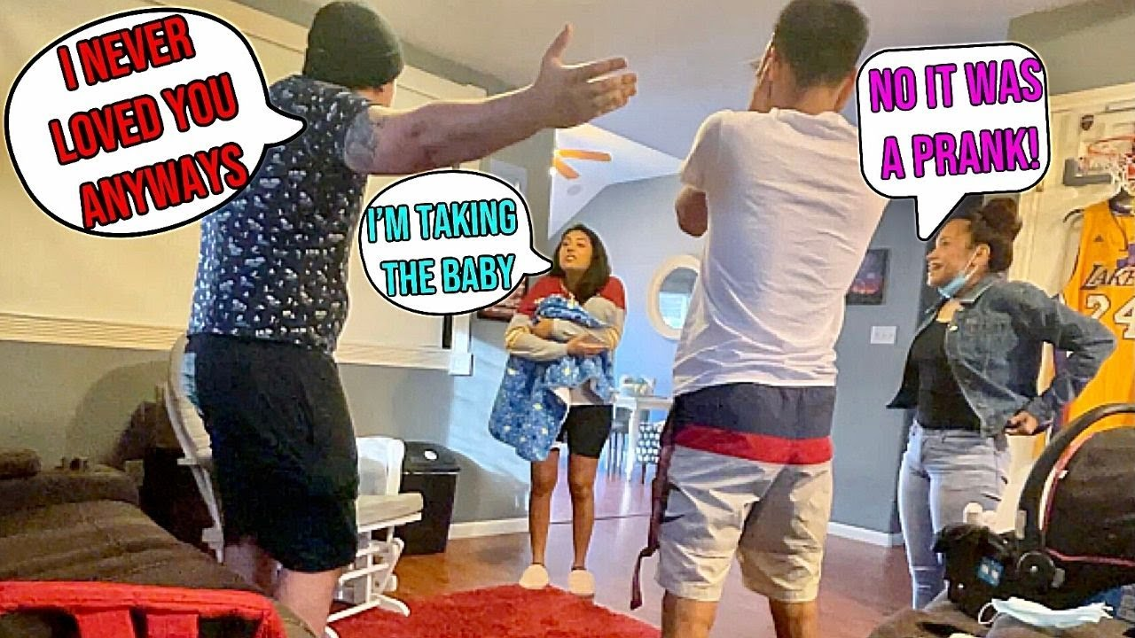 Breaking Up In Front Of Our Friends! They Freaked Out