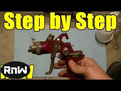 How to Paint Your Car - Step by Step - PART 1