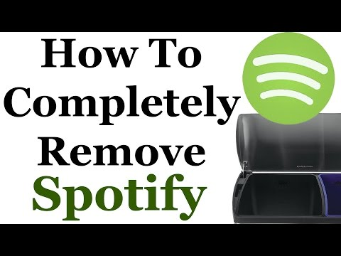 How To Completely Remove Spotify From Windows 7