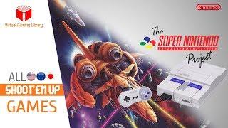 All SNES/Super Nintendo Shoot