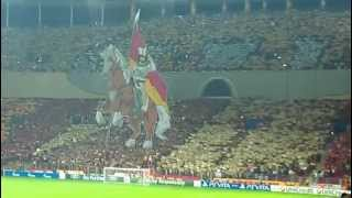 Galatasaray - Braga Re Conquest of Europe Galatasaray Fans Show Champions League