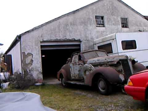 More Old Barn Find 37 Buick Conv
