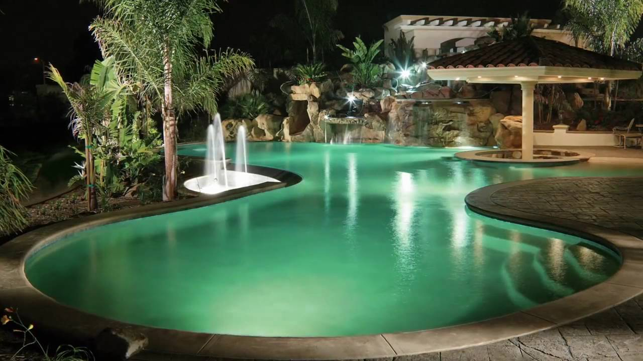 intellibrite 5g led color changing and white led pool lights by