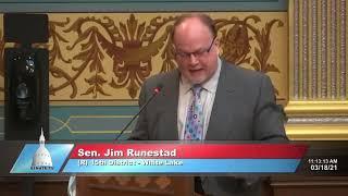 Sen. Runestad on AG's refusal to investigate Gov. Whitmer's nursing home policy