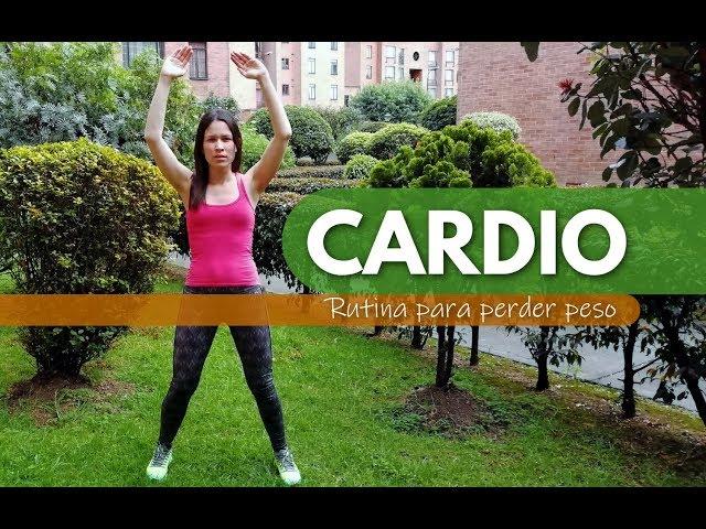 Rutina de cardio para quemar grasa y tonificar el cuerpo