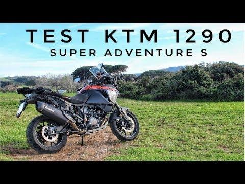 KTM 1290 SUPER ADVENTURE S + AKRAPOVIC - TEST & RECENSIONE
