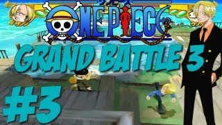 Let´s Play One Piece Grand Battle 3 - #3 - Sanji [German] [HD] [Japanisch]