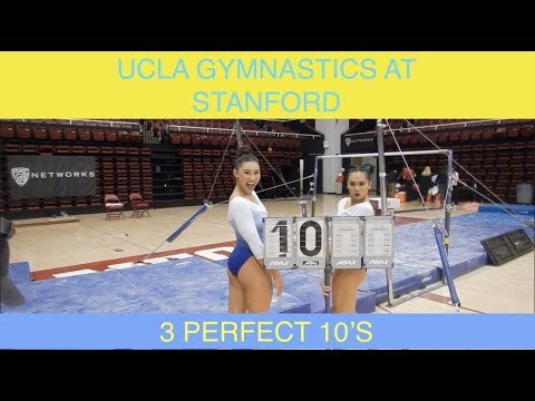 UCLA GYMNASTICS BEHIND THE BUBBLE | STANFORD