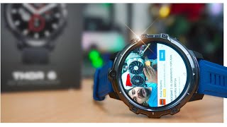 Pubg Youtube Sim Kart Akıllı saat - Zeblaze Thor 6 Android 10 Smart watch