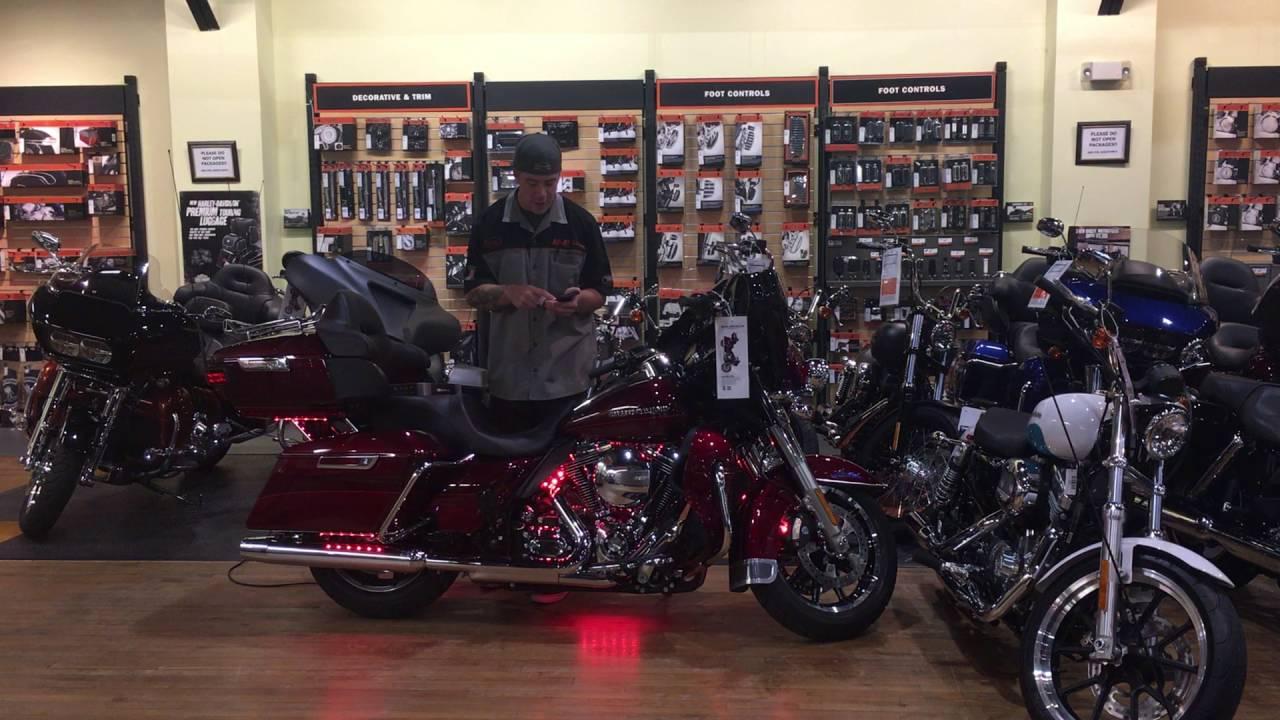 XK Glow Lighting at Harley-Davidson of Ocean County - YouTube