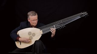 "J.S. Bach: Prelude in C Minor ""pour le luth"" BWV 999;  David Tayler, archlute"
