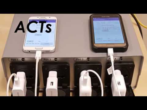 ACTs battery testing solution