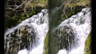 Scaling the Leixlip Waterfall in Stereoscopic Immersive Reality