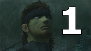 Metal Gear Solid 2 Sons of Liberty Walkthrough Part 1 - No Commentary Playthrough (PS3)