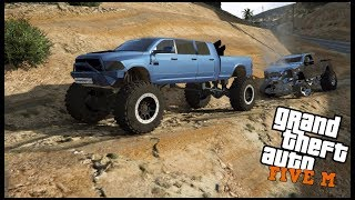 GTA 5 ROLEPLAY - HE TOTALED HIS TRUCK ON THE STAIR STEPS - EP. 448 - CIV