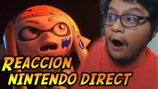 Reaccionando al Nintendo Direct (Marzo) - Smash para Switch. Nuevo DLC para Splatoon