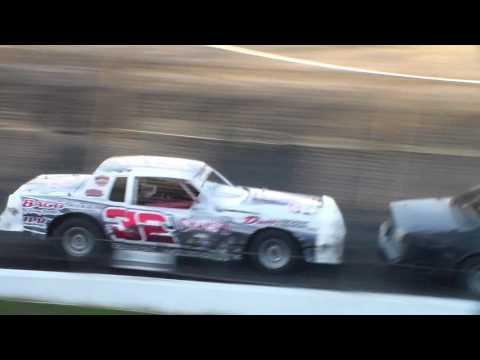 Hobby Stock Heat 2 @ Hancock County Speedway 05/26/17
