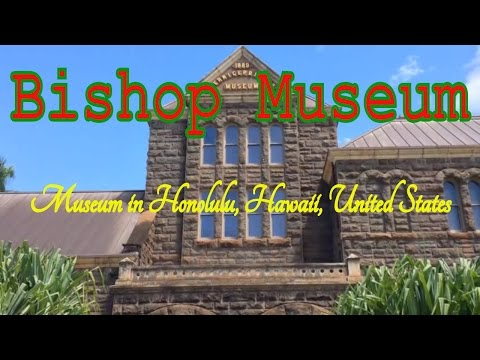 Visiting Bishop Museum, Museum in Honolulu, Hawaii, United States