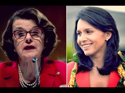 Tulsi Gabbard Schools Dianne Feinstein on 'Medicare For All'