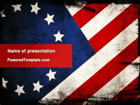 Betsy Ross Flag The First American Flag PowerPoint Template by